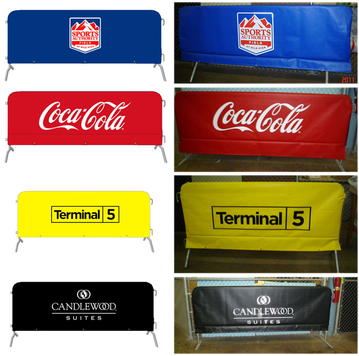 Barricade Covers Dress Up Your Barricades With Your Logo